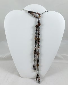 Celebrate Life 18 hand woven custom necklaces and wrap bracelets with semi precious stone beads, with spiritual meaning, personalized and based on gematria and numerology